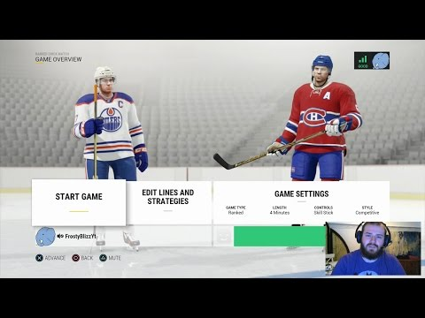The 100 Games #12: Edmonton Oilers (Vs Gameplay + CamShow)