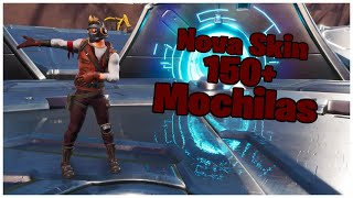 SHOWING THE * NEW * SKIN LORD OF THE STARS & 150 + BACKPACKS | FORTNITE