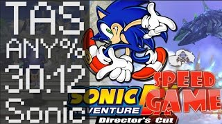 Speed Game: TAS Sonic Adventure DX Sonic
