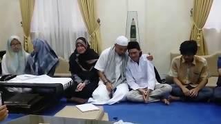 Sampai Menangis, Pemuda Yang Menghina Ustadz Arifin Ilham akhirnya Minta Maaf