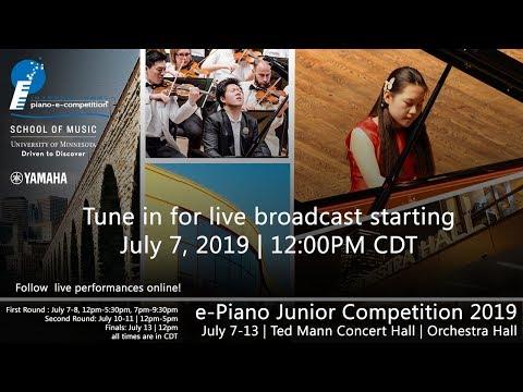 Final Awards Ceremony | e-Piano Junior Competition 2019 | July 7-13, 2019