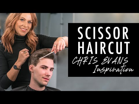 scissor-haircut-medium-length-hairstyle