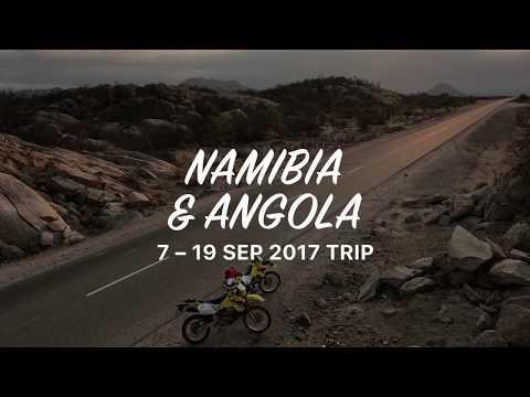 Southern Angola bike adventure