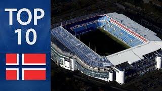 Top 10 Biggest Stadiums In Norway