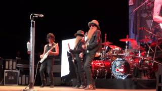 ZZ Top / Jeff Beck - La Grange - Cuthbert - Eugene - August 10, 2014