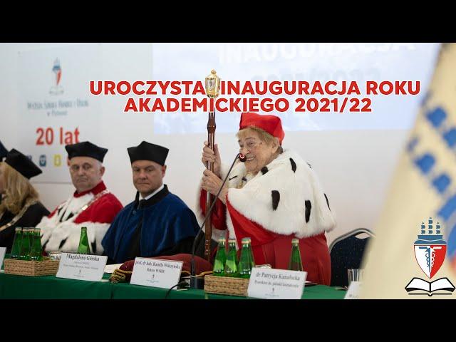 WSHiU - Uroczysta Inauguracja Roku Akademickiego 2021/22