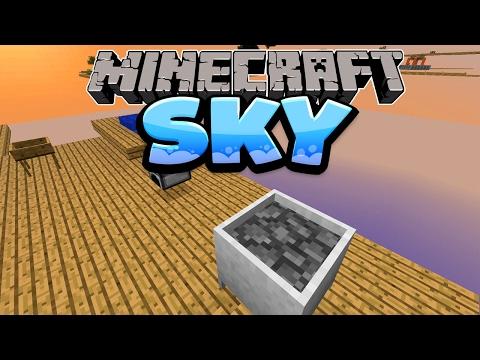 Lava Erschaffen Mit Crucible! - Minecraft SKY Folge #03