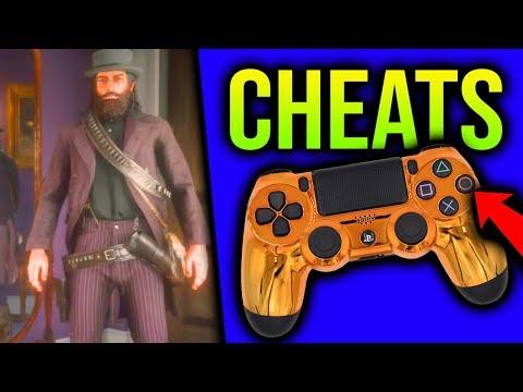 Red Dead Redemption 2 SECRET CHEAT CODES Unlimited Money Cheat BEST WEAPON PS4 XB1 RDR2 Cheats Codes