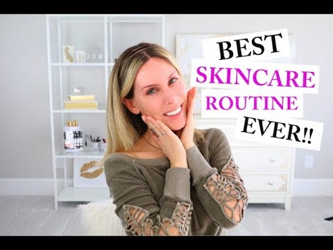 Current Anti-Aging Skincare Routine | Over 35 | FAVORITE ROUTINE YET!