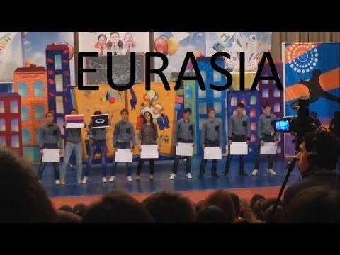 КВН. Школьная лига. Армения. 2-ое выступление. EURASIA INTERNATIONAL UNIVERSITY. 08.12.2013