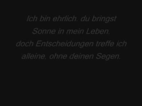 D-Bo ft. Bahar - ruf nach mir / Lyrics