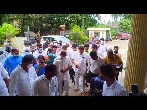 Mangaluru Ambedkar Bhavana   ರಮಾನಾಥ ರೈ ಅಂಬೇಡ್ಕರ್ ಭವನದ ರೂವಾರಿ- ಕೈ ನಾಯಕರಿಂದ ಅಂಬೇಡ್ಕರ್ಗೆ ನಮನ