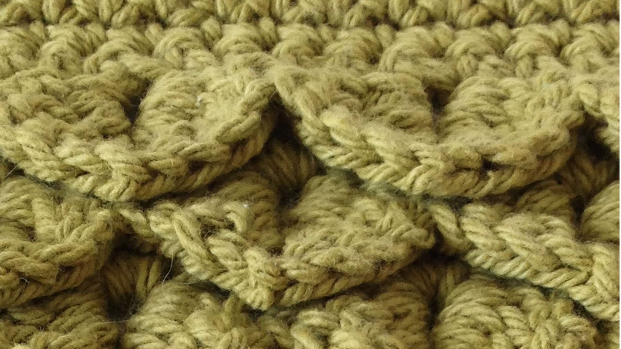 Crocodile stitch free crochet pattern right handed youtube bankloansurffo Choice Image