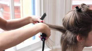 Kate Middleton Hair Tutorial: Kate's bouncy curls and ponytail