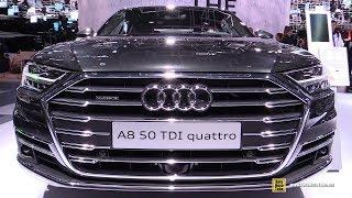 2018 Audi A8 - Exterior and Interior Walkaround - 2017 Frankfurt Auto Show