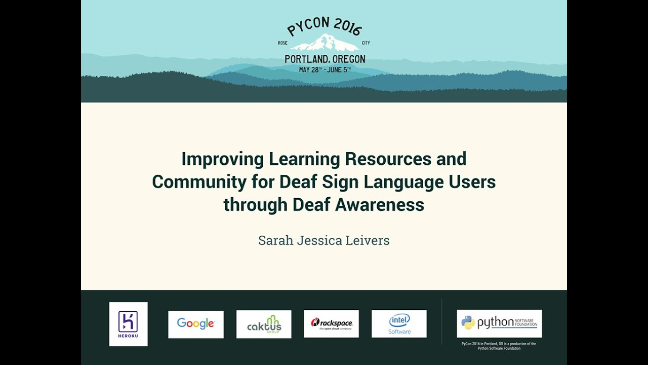 Image from Improving Learning Resources and Community for Deaf Sign Language Users through Deaf Awareness