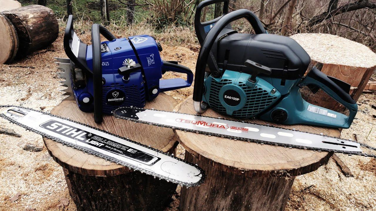"Makita EA6100 ""vs"" FarmerTec G366 (60cc class chainsaws)"