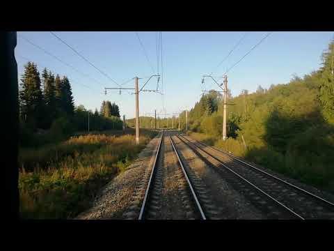 Последний вагон. Поезд 007 Е. Пермь -2 - Москва-Яр.