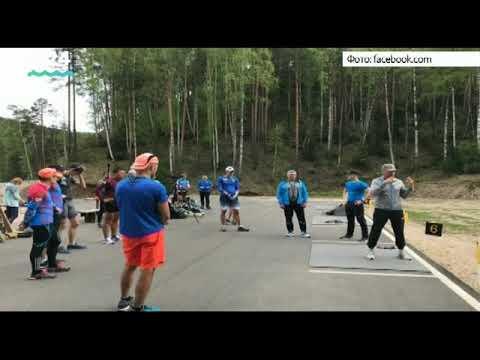 Первый сбор российских биатлонистов проходит в Белокурихе