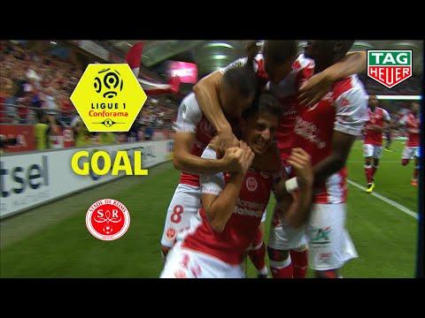 Goal Pablo CHAVARRIA (32') / Stade de Reims - Olympique Lyonnais (1-0) (REIMS-OL) / 2018-19