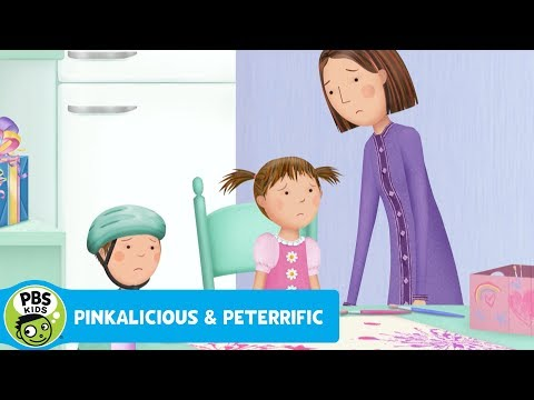 PINKALICIOUS & PETERRIFIC | Don't Cry Over Spilled Paint | PBS KIDS