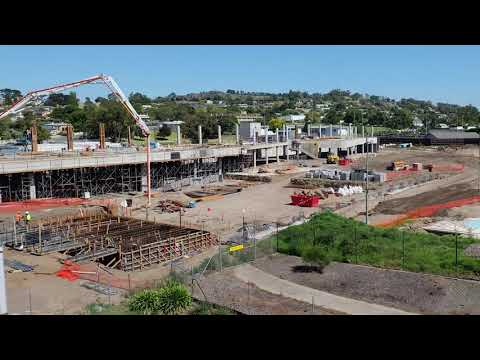 Wulanda Recreation and Convention Centre - Construction Time-lapse March 2021