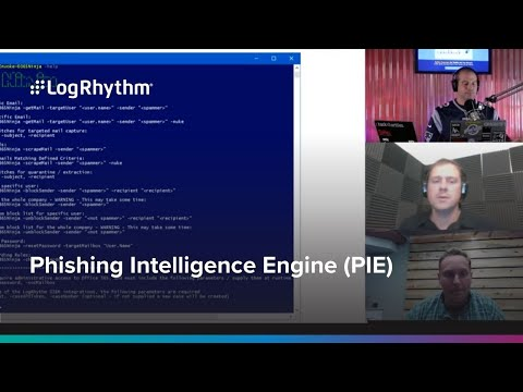 Phishing Intelligence Engine (PIE) Webinar with Security Weekly