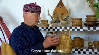 О семейном деле казахского мастерапо дереву в Китае
