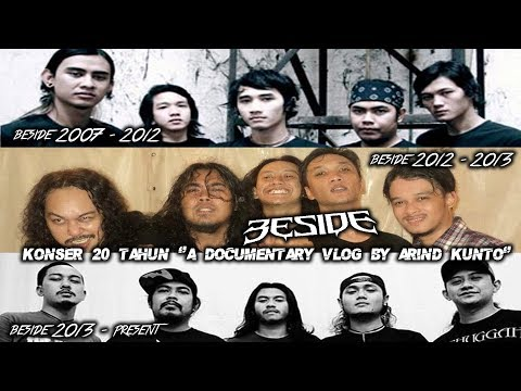 BESIDE KONSER 20 TAHUN a Documentary Vlog by Arind Kunto | #MasArindjurnal 49