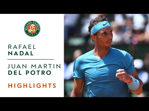 Rafael Nadal vs Juan Martin Del Potro - Semi-Final Highlights I Roland-Garros 2018