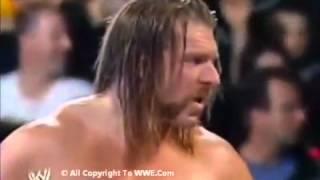 raw 2006 april 10 triple h john cena vs edge w lita handicap match youtube
