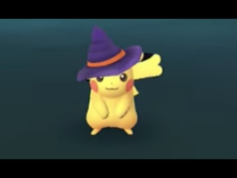 Pokemon Go - Catching New Generation 3 Pokemon - Halloween Event 2017