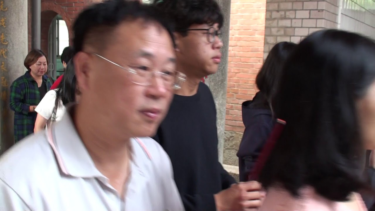 苗栗縣謝氏宗親優秀的學子回鄉拜祖二 - YouTube
