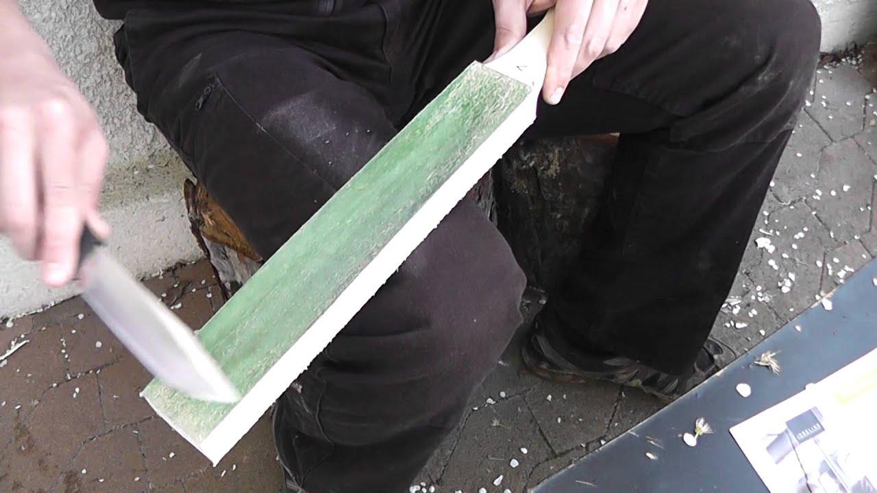 cuir affutage couteau puma