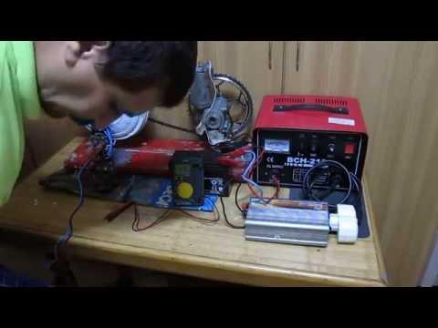 FREE ENERGY SYSTEM 2.Test Generator pt.mini sistem.