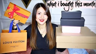 WHAT I BOUGHT THIS MONTH | LV, DIOR, ACCESSORIES, SHOES, CLOTHES -REGULAR+MATERNITY | CHARIS ❤️