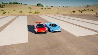 Koenigsegg REGERA vs McLaren P1 Drag Race! Forza Horizon 3