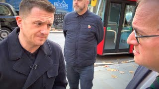"Tommy Robinson: In court over ""racist"" schoolyard dispute involving Syrian refugee boy 