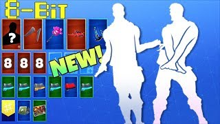 ALL *NEW* LEAKED EMOTES In 8-Bit..! Fortnite Battle Royale