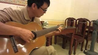 bản guitar ' Riêng một góc trời' rất hay