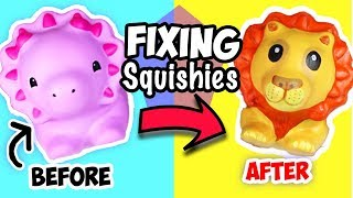 Squishy Makeover! Fixing BASIC Squishies
