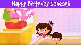 Happy Birthday Ganeshji | गणेश चतुर्थी | कहानी बच्चों की | Devotional Videos | Jalebi Street