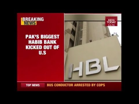 Pakistan's Habib Bank Kicked Out Of New York Over Terror Funding; Fined $225 Million