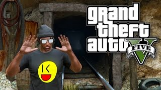 GTA 5 Online - ESCAPE IN THE MINES! (GTA V Online)