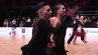 Samba | Zhuravlev Danila & Titkova Daria | 1/2 Russian Championship Youth Latin 2020