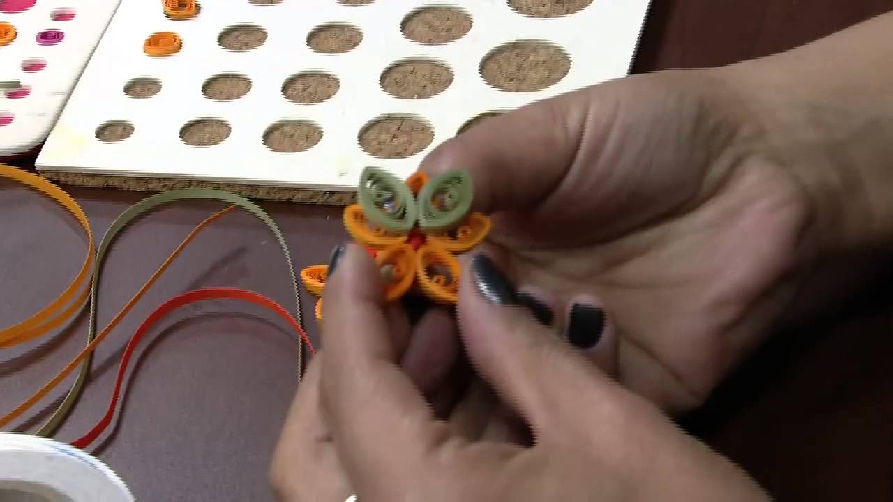 Papercraft Mulher.com 10/07/2015 Tais Santos - Cartão em quilling