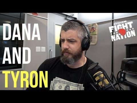 Why Dana White and Tyron Woodley Don't Get Along   SiriusXM   Luke Thomas
