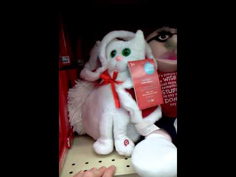 Singing Cat (Christmas Toy)