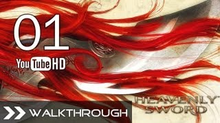 Heavenly Sword (PS3) - Walkthrough/Gameplay Part 1 (Chapter 1: The Final Battle/Intro) HD 1080p