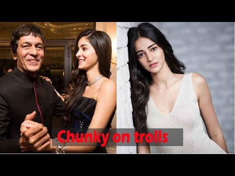 Ananya Panday gets affected by trolls and their comments, says daddy Chunky Panday Mp3